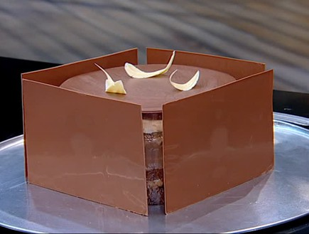 עוגת 11 השכבות של עידן חדד (צילום: קשת ,קשת)