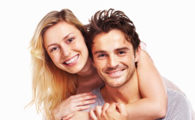 בחור ובחורה מאוהבים (צילום: istockphoto ,istockphoto)