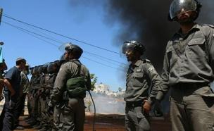 העימותים בבית אל (צילום: הלל מאיר - סוכנות תצפית)