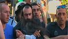 מעצר החשוד בדקירה במצעד הגאווה בירושלים (צילום: חדשות 2)