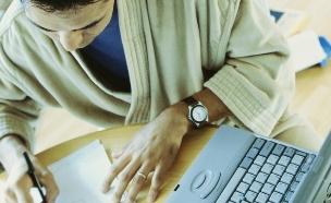 עבודה מהבית (צילום: thinkstock ,thinkstock)
