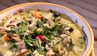מתכון מרק עוף מפורק עם עשבי תיבול