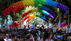 מצעד הגאווה, ארכיון (צילום: גיא יחיאלי)