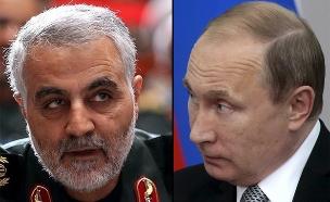 שוחחו על העברת הטילים? פוטין וסולימאני (צילום: רויטרס)