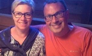 בני הזוג מצרפת (צילום: dailymail)