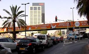 נערכים לפיצוץ, גשר מעריב (צילום: חדשות 2)