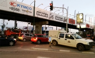 הגשר שהפך לריאליטי (צילום: עזרי עמרם, חדשות 2)
