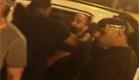 עימות מול המצלמה: המעצר שהסתיים בקטטה (צילום: חדשות 2)