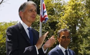 שגרירות בריטניה באיראן (צילום: חדשות 2)