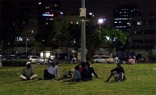 """תושבי דרום ת""""א חוששים (צילום: חדשות 2)"""