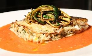 פילה דג ברוטב עגבניות (צילום: דניאל בר און ,מאסטר שף)