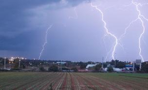 סופת ברקים , אילוסטרציה (צילום: שיר לוי)