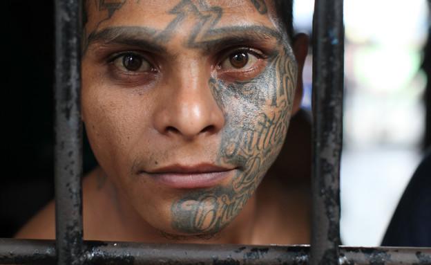 כלא אל סלבדור (צילום: Adam Hinton/Panos)