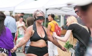 האישה שמתפשטת כדי שתאהבו את עצמכם (צילום: יוטיוב  ,יוטיוב)