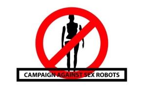 נגד יחסי מין עם רובוטים (איור: מתוך הקמפיין)