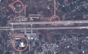 הצילומים שמוכיחים: מעורבות רוסית בסוריה (צילום: cnn)