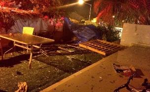 אסון הגז בגן יבנה: האב מת מפצעיו (צילום: חטיבת דובר המשטרה)