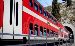 הדמיית הרכבת לירושלים, ארכיון (צילום: חדשות 2)