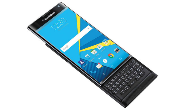 הסמארטפון Blackberry Priv (צילום: Blackberry)