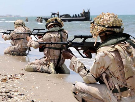 צבא סעודיה (צילום: twitter)