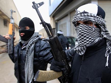 """""""לא כולם טרוריסטים"""". המורדים בסוריה (צילום: רויטרס)"""