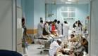 מטופלים ואנשי צוות בבית החולים (צילום: CNN)