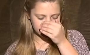 הילדה שלא מפסיקה להתעטש (צילום: CBS)
