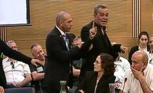 צפו: כך יצא הדיון משליטה (צילום: ערוץ הכנסת)