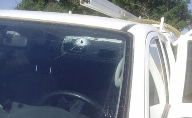 קליע נורה לעבר רכב סמוך לגבול עזה (ארכיון)