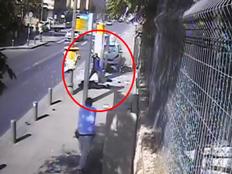 תיעוד: פיגוע הדריסה ברחוב מלכי ישראל