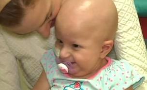 נלחמת על חייה מיום שנולדה (צילום: חדשות 2)