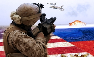 ארצות הברית נגד רוסיה (צילום: סטודיו מאקו)