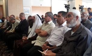 יממה עם בכירי התנועה האיסלמית (צילום: חדשות 2)