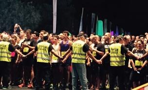 הזנקת מרוץ הלילה בתל אביב (צילום: חדשות 2)