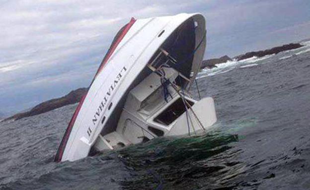 תיעוד מספינת החילוץ (צילום: SKY NEWS)