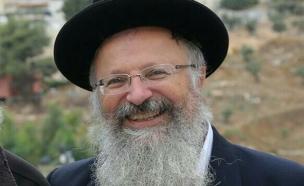הרב שמואל אליהו, ארכיון (צילום: מתניה אופיר)
