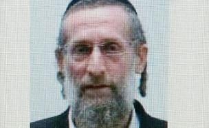 החשוד בבעילת קטינה, הרב אליהו דיבלסקי (צילום: דובר משטרת מרחב דן)