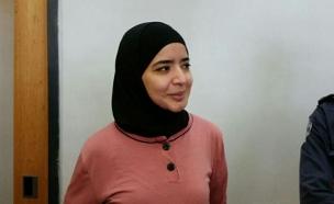 שוחררה למעצר בית. אסראא עאבד (צילום: פוראת נסאר, חדשות 2)