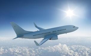מטוס בשמיים (צילום: אימג'בנק / Thinkstock ,Thinkstock)