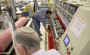 מפעל, התנחלויות, יקב ברקן, פלסטינים עובדים (צילום: חדשות 2)