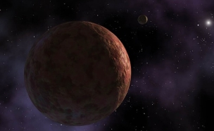 הדמיית התגלית החדשה במערכת השמש (צילום: NASA/JPL-CALTECH/R.HURT)