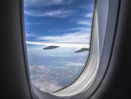 חלון של מטוס (צילום: אימג'בנק / Thinkstock ,Thinkstock)