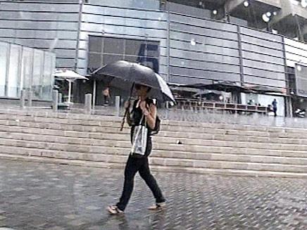 הגשם חוזר (צילום: חדשות 2)