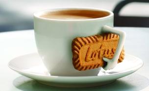 קפה ועוגיית לוטוס (צילום: יחסי ציבור ,יחסי ציבור)