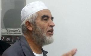 מנהיג התנועה, ראאד סלאח (צילום: עמית ולדמן, חדשות 2)