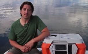 """ראיין גרפר, מייסד ומנכ""""ל Coolest Cooler"""