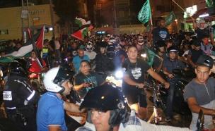 המהומות ביפו בחודש שעבר (צילום: yaffa48.com)