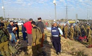 פיגוע בגוש עציון (צילום: חדשות 2)