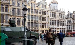 מתח ברחובות בלגיה (צילום: רויטרס)