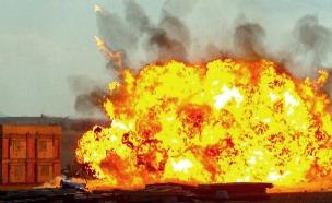 """צפו בפיצוץ (צילום: דובר צה""""ל)"""